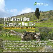 The Lefkes, Byzantine Way and Aghia Kyriaki Monastery Hike