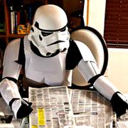 Unemployed Storm trooper TK420