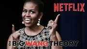 """Coming soon on #Netflix, it's Michelle #Obama in - """"the BiG WANG THEORY""""..."""