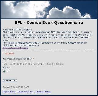 Calling all EFL teachers! - Classroom 2 0