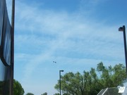 chemtrail cloud bank forming (3 out of 3)