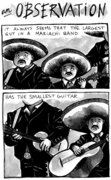 Mariachi band observation