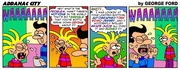 Addanac City comic strip 140