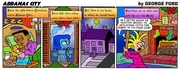 Addanac City comic strip 143
