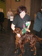 Rian and me Crufts