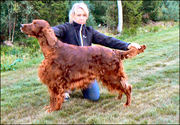 Copper´s Art of Bubbles The winner of Dog Open Class 2/ Ck and finally Best dog 4.