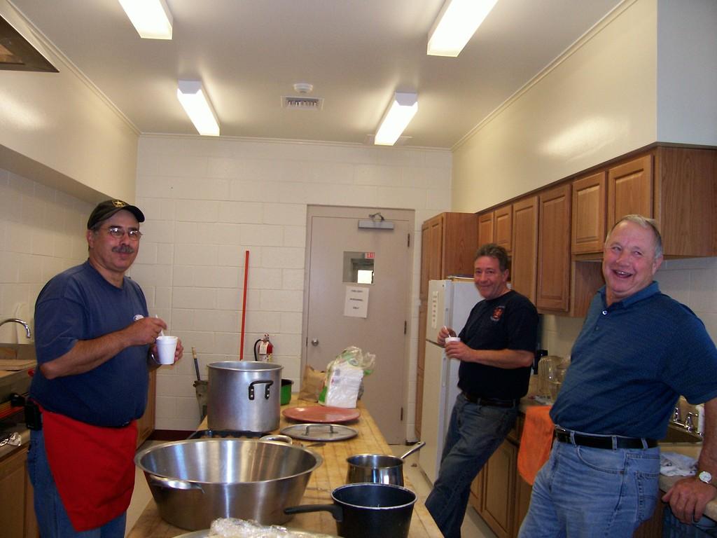 Voorheesville Open House y cena Spaghetti 2008 004