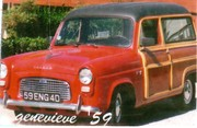 """Genevieve"" 1959 English Ford Thames 100e"