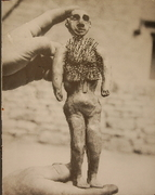 Old photograph of a poppet