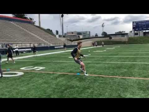Notre Dame Speed: 4 Station Post-Game Recovery & Conditioning Workout