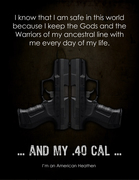 Thors 40cal Walther poster