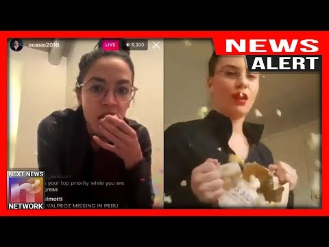 NEWS ALERT! Video HUMILIATING Ocasio-Cortez goes Viral After BIZZARE Wine-Rage Livestream