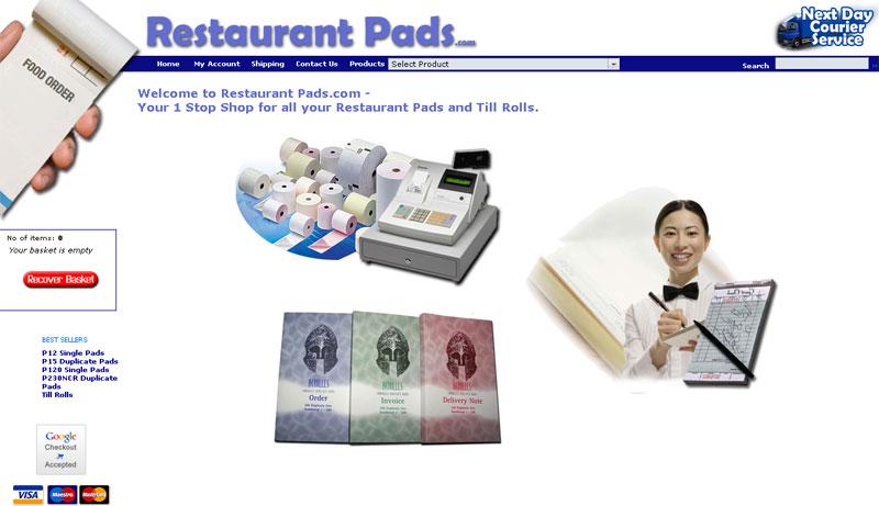 Restaurant Pads