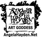 Angela Hayden Logo New BW