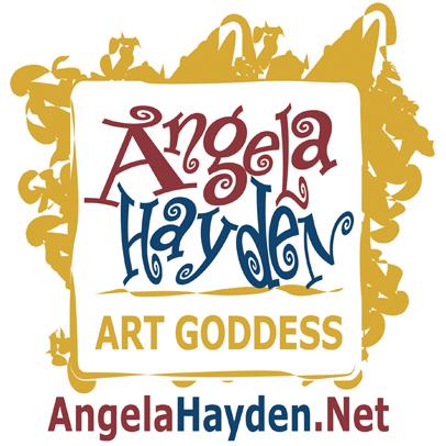 Angela Hayden ART GODDESS Logo angelahayden.net