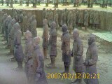 Terra Cotta Army.  Visit to China