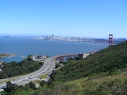View of Golden Gate from Coast Trail