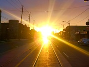 Lakeshore Blvd at 6:30 am