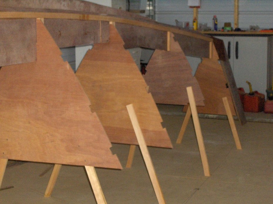 TIKI 38 Lower Bulkheads