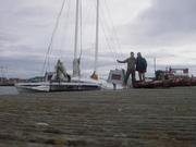 56. spent night on visitors pontoon Exmouth
