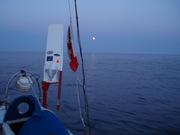 Moonlit night welcome to Newport
