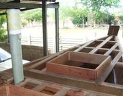foremast foundation installed