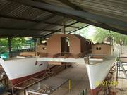 Phefo's deck salon and cabin tops
