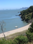 Coastal Trekking, Quarry Beach, Angel Island