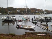 Dock after Hurricane