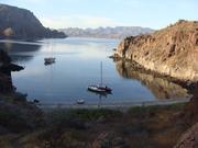 My TIKI 26 (Pantala) Honeymoon cove Baja, Mexico