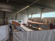 Second Hull Turned
