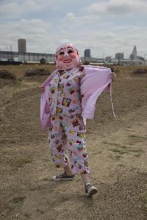 Pink Buddha Baby Heads: appearance 1