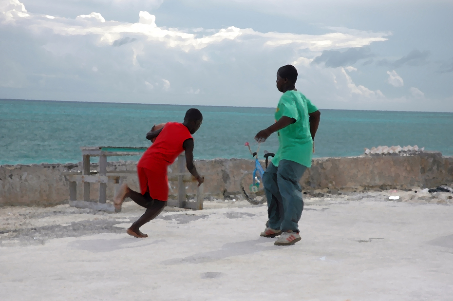 boys playing bball