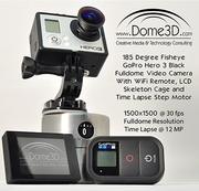 GoPro 185 Fisheye by Dome3D