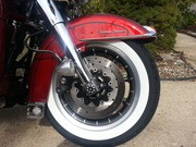 New Old School Wide White Wall Tires for the riding season.