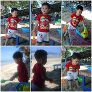 ปังปอนด์ on the beach