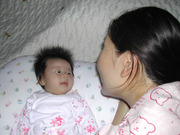 talking with mommy