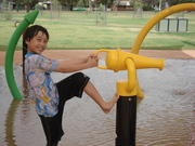 At water park