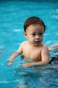 Enjoys swimming!