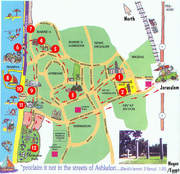 Ashkelon Map