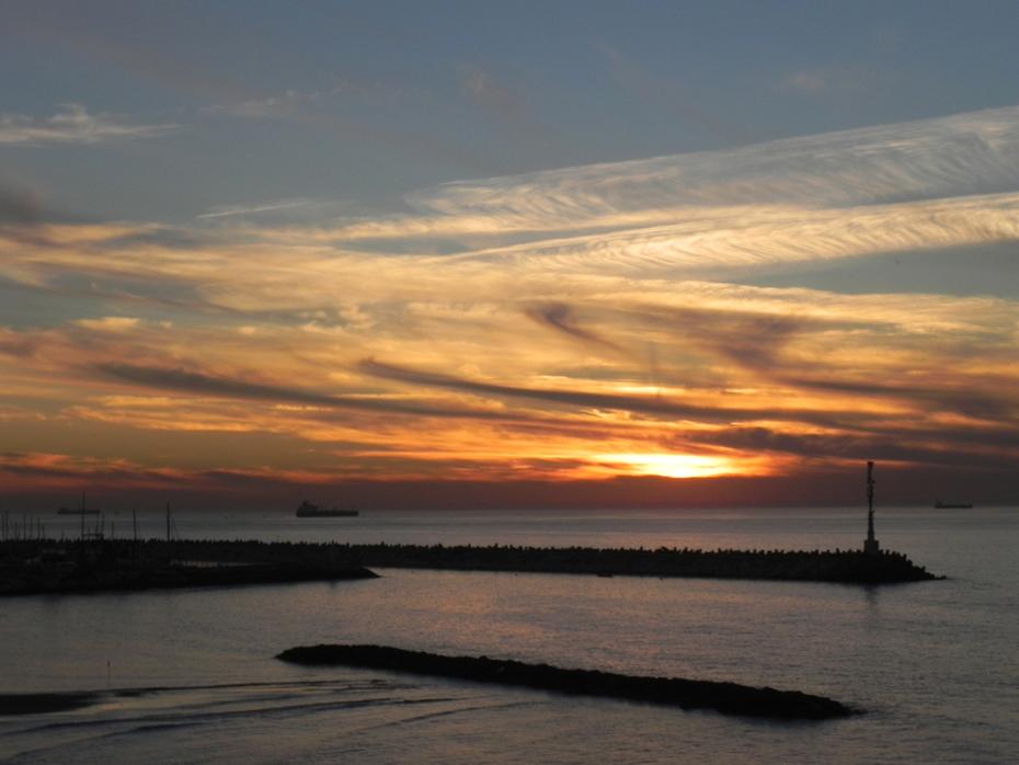 Ashqelon has amazing sunsets