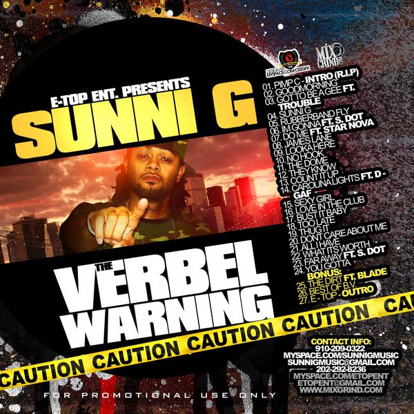 Sunni G: Verbal Warning