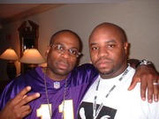 Jam master Jay and I about a month or 2 before he passed