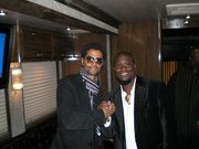 Me and Warner Brothers recording Artist Eric Benet