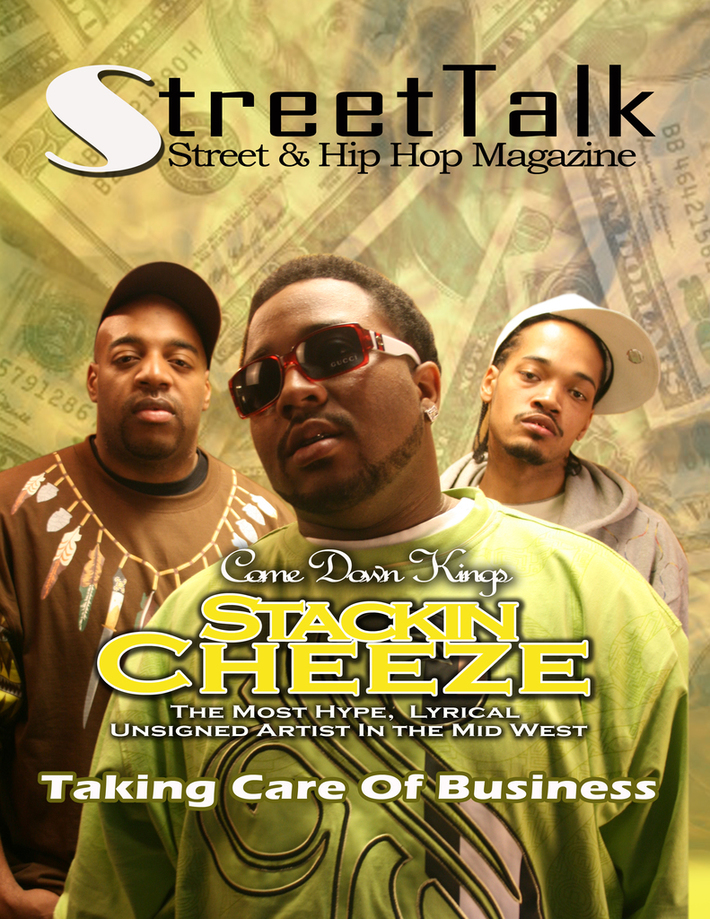 SCR ON DA COVER OF STREET TALK MAGAZINE