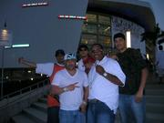 THE CREW IN MIAMI AT THE HEAT GAME!