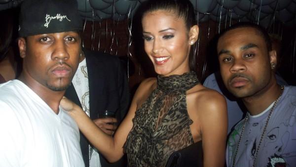 Von Sway, Jaslene (America's Next Top Model Winner) and K. Briggs