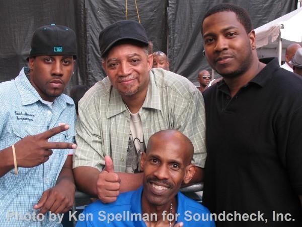 Me, Red Alert, Ken, and C Roc