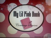 MY LIL PINK BOOK OFFICE SIGN