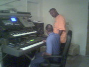 In the Studio ---Cranking out hotttt traxs